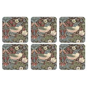 Pimpernel Strawberry Thief Coasters Set of 6