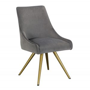 Amy Dining Chair- Grey