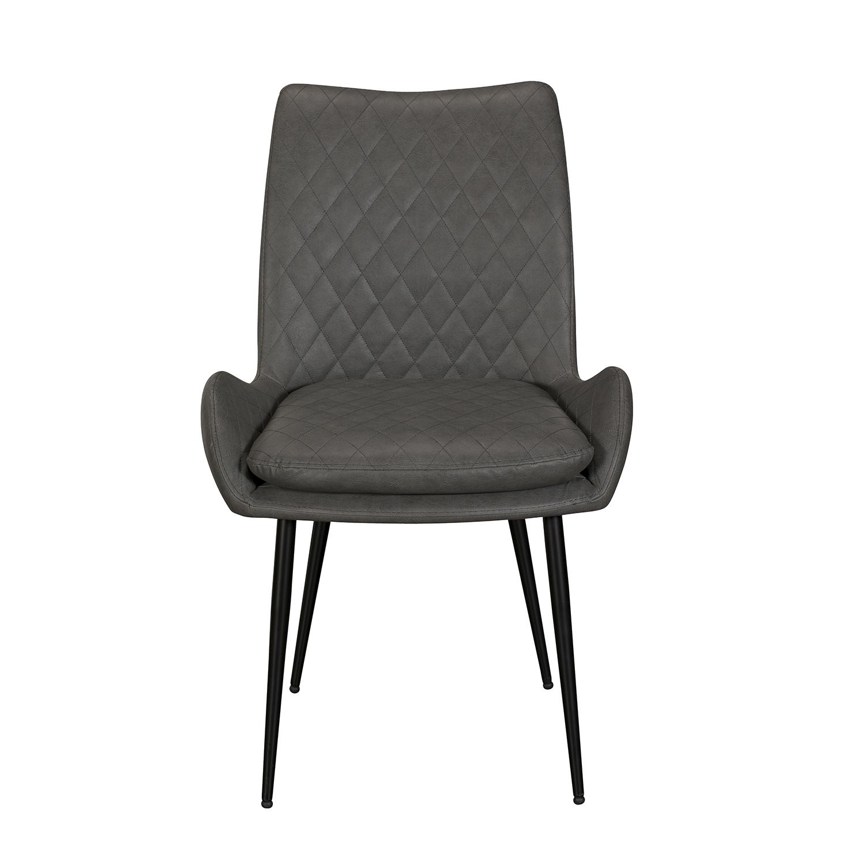 Sarah Dining Chair - Grey PU
