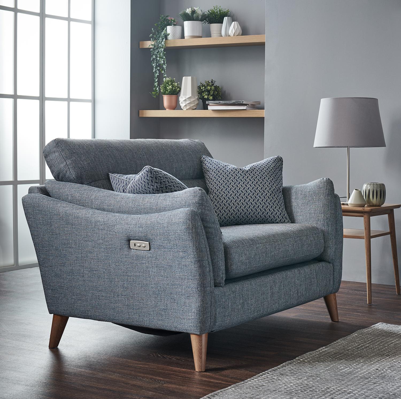 Cassie Cuddler Sofa
