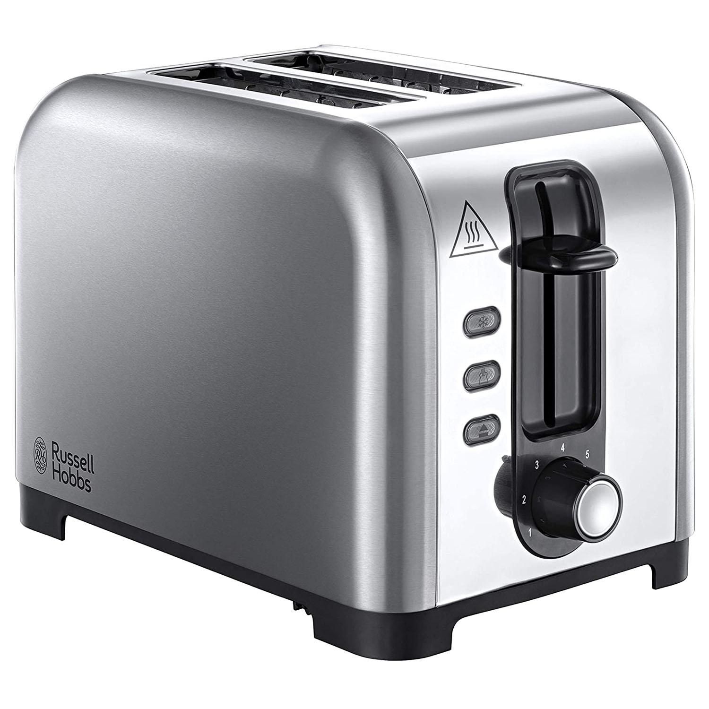 Russell Hobbs Henley 2 Slice Toaster - Stainless Steel