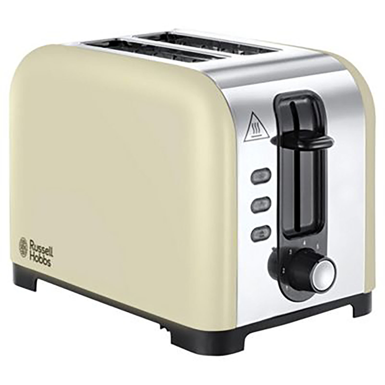Russell Hobbs Henley 2 Slice Toaster - Cream