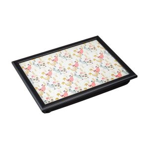 Denby Hens Lap Tray With Black Edge