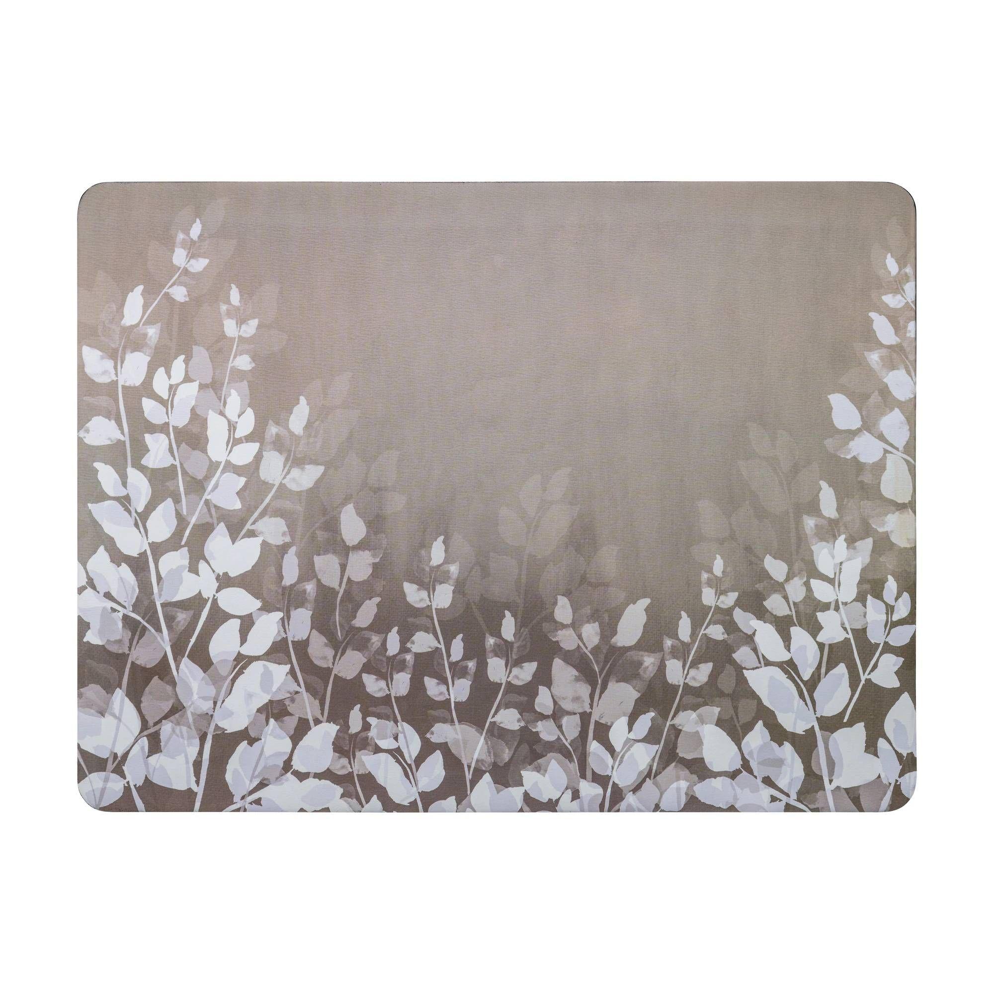 Denby Colours Set of 6 Placemats - Natural Foliage