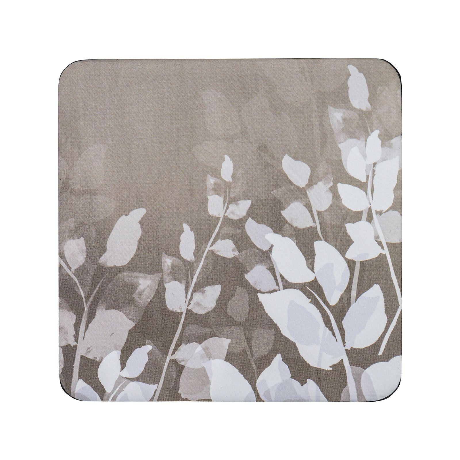 Denby Colours Set of 6 Coasters - Natural Foliage