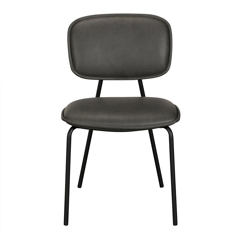 Olivia Dining Chair - Grey PU