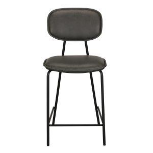Olivia Bar Stool - Grey