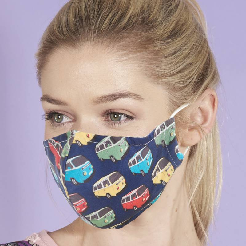Eco Chic Reusable Face Cover Camper Van