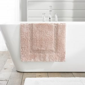 TLC Luxury Tufted Bath Mat - Pink
