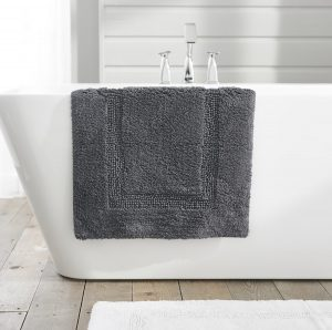 TLC Luxury Tufted Bath Mat - Charcoal