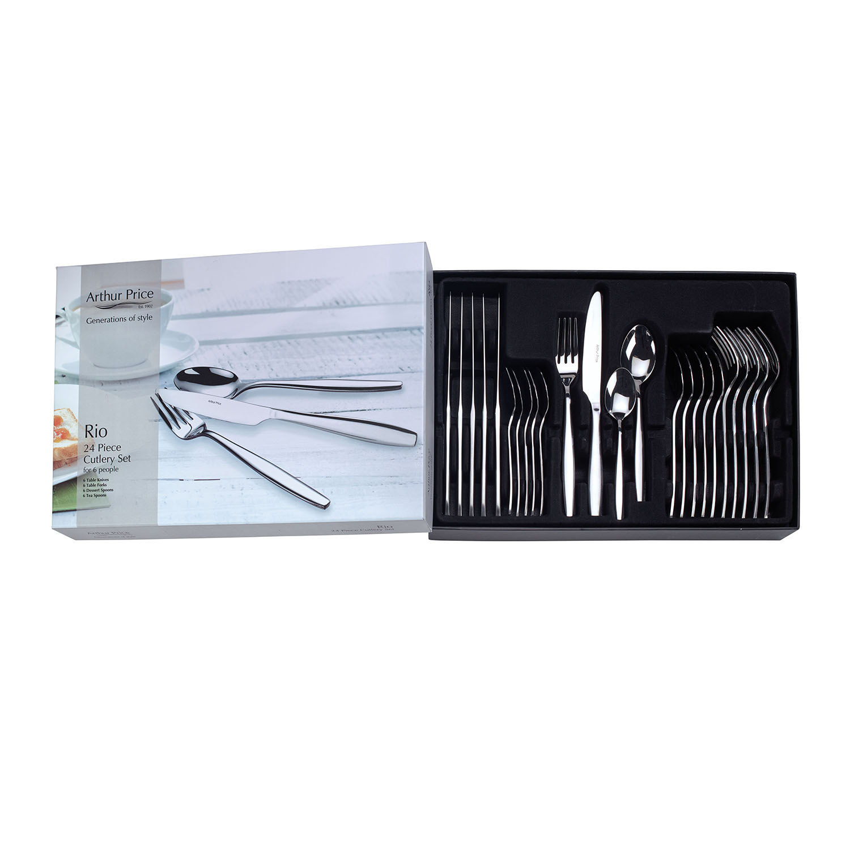 Arthur Price Rio 24 Piece Cutlery Set