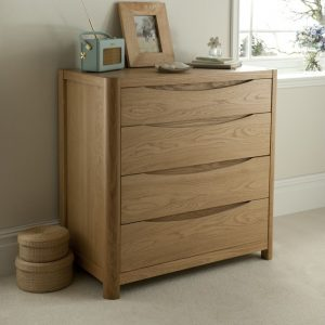 Malmo 4 Drawer Chest WN22
