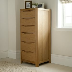 Malmo Tall 6 Drawer Chest WN23