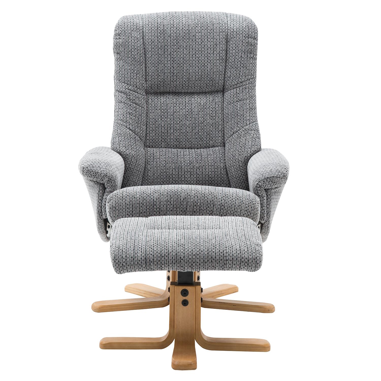 Bailey Swivel Chair & Stool Lake Blue