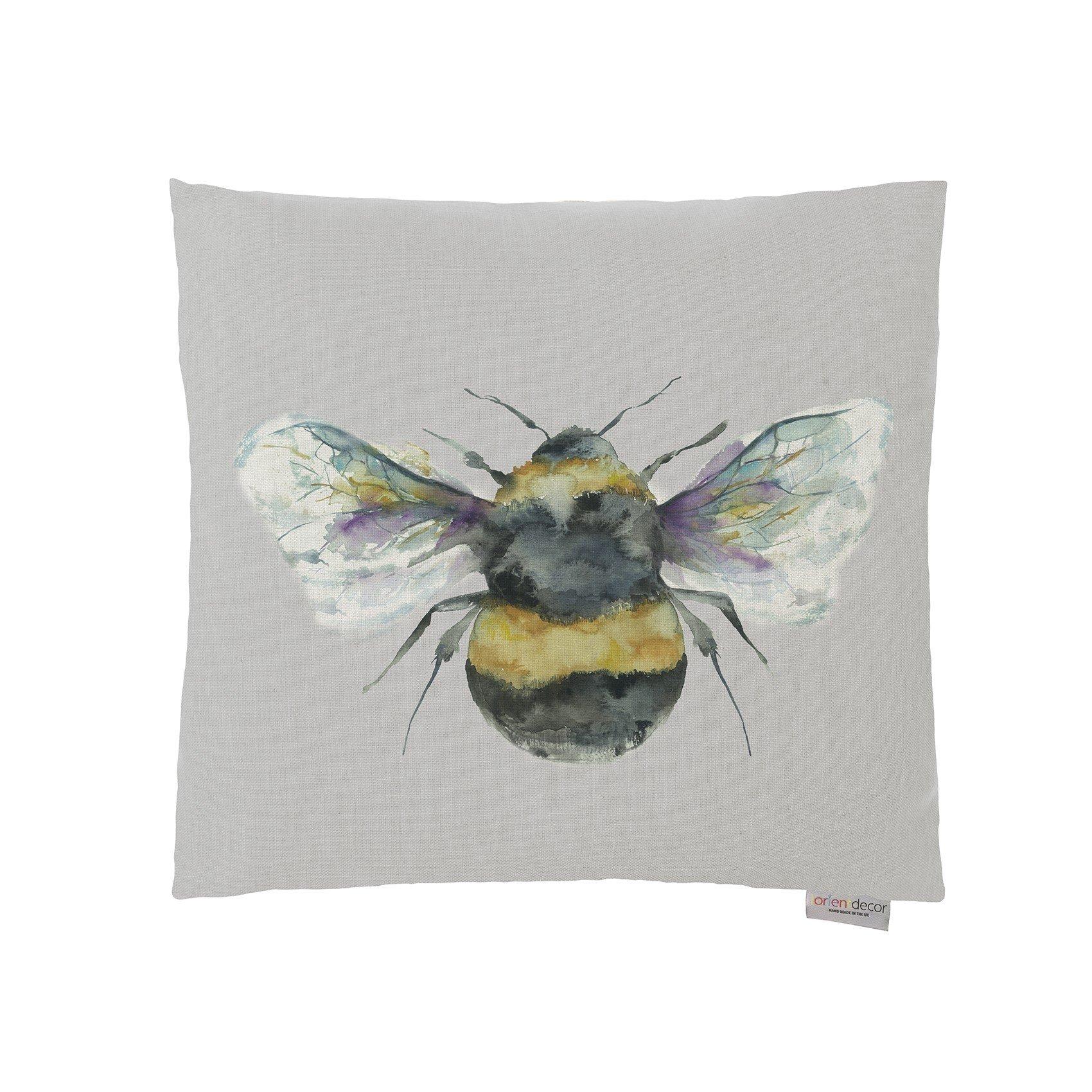 Lorient Design Bee Silver Cushion - 43x43
