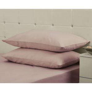 Belledorm 200 Thread Count Polycotton Pillowcase Blush