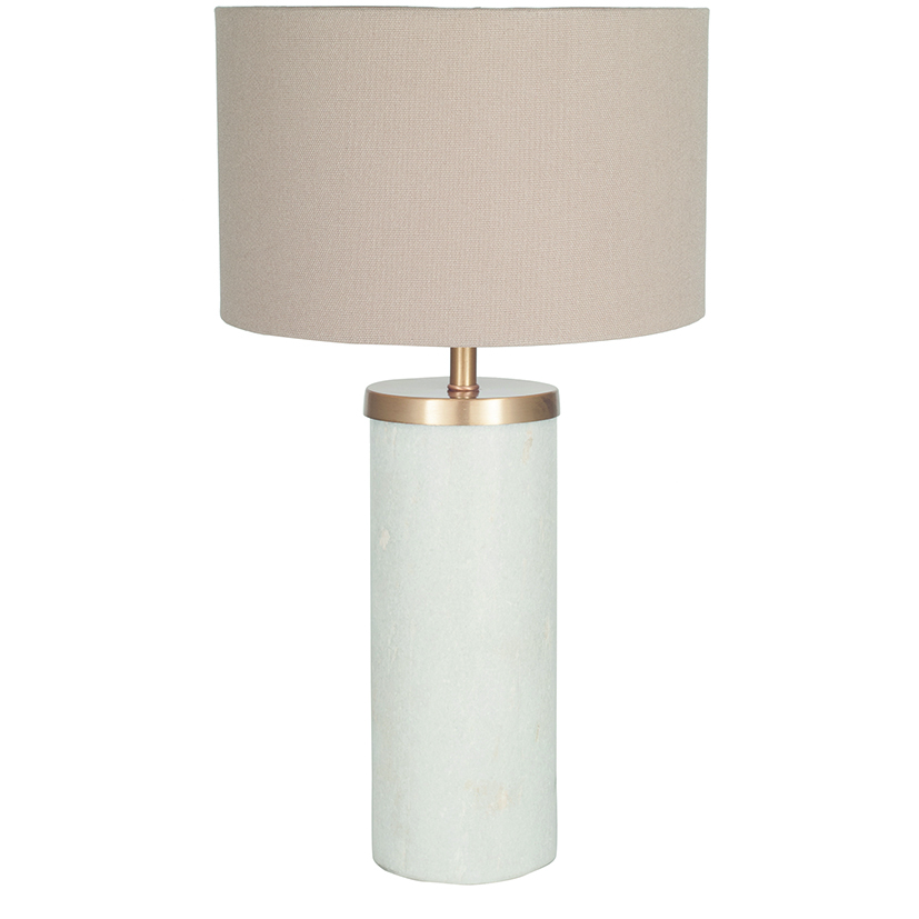 Tall Marble Table Lamp