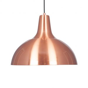 Brushed Copper Metal Pendant