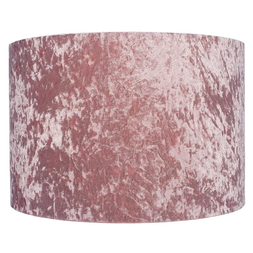 25cm Blush Crushed Velvet Shade