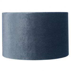 25cm Slate Velvet Cylinder Shade