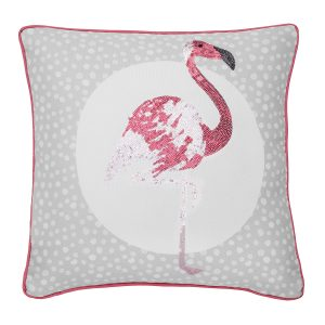 Catherine Lansfield Flamingo Cushion 43 x 43cm