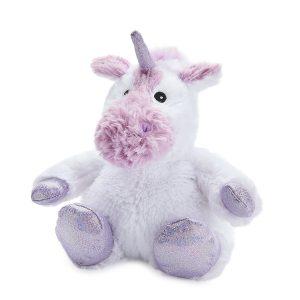 Warmies Sparkly Unicorn White
