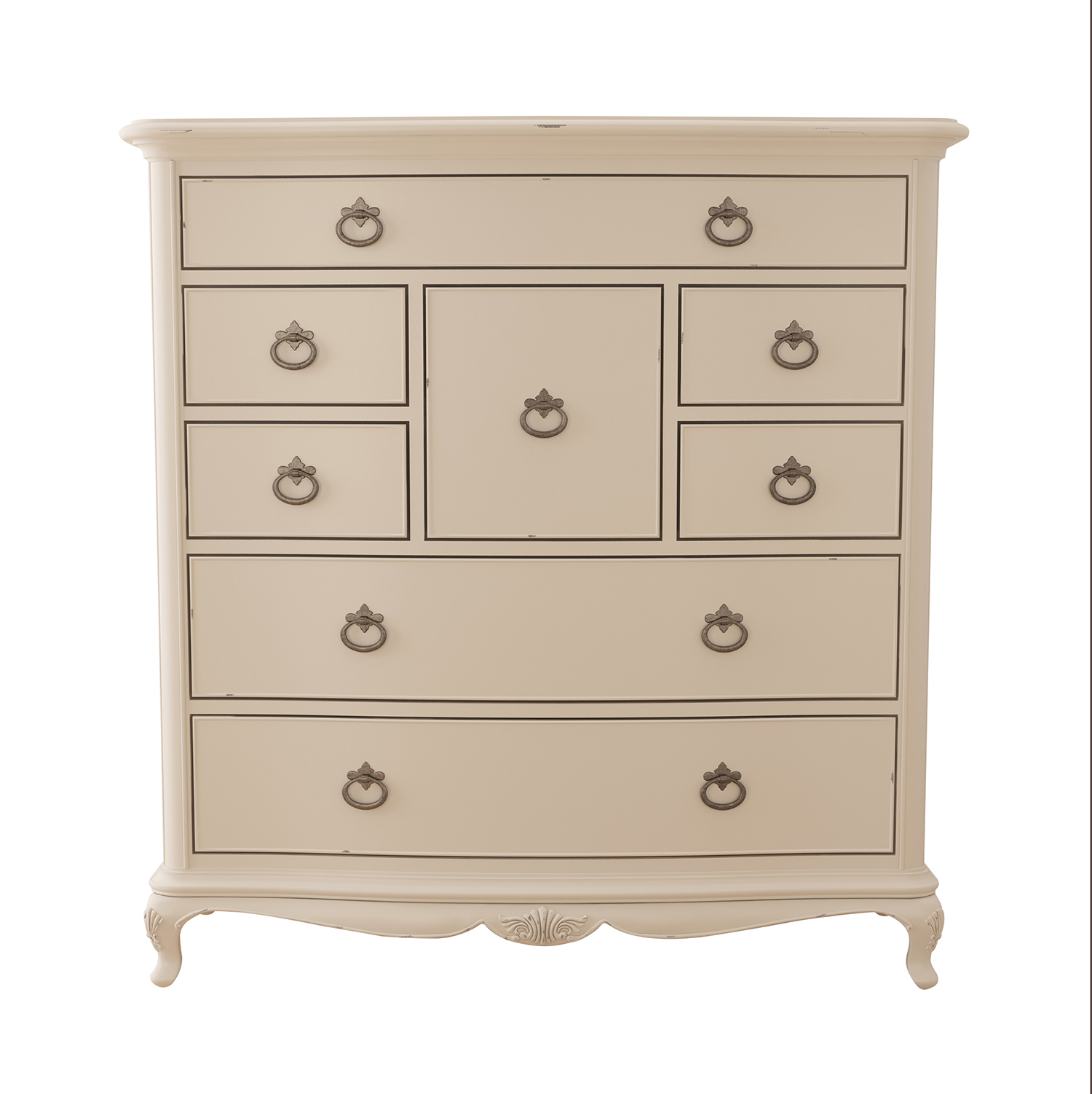 Willis & Gambier Ivory 8 Drawer Chest