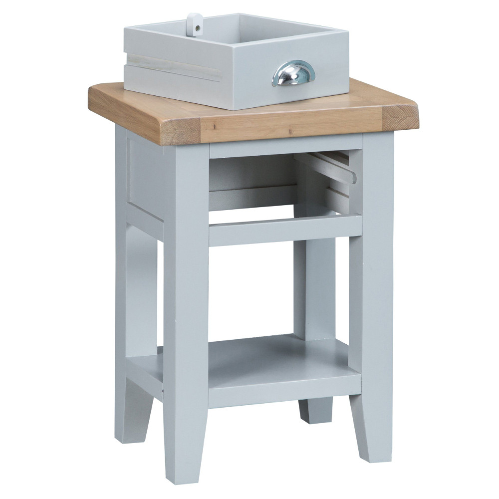 Henley Grey Side Table