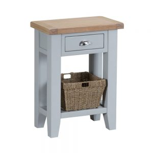Henley Grey Telephone Table