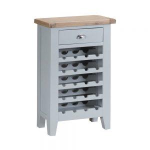 Henley Grey Wine Cabinet