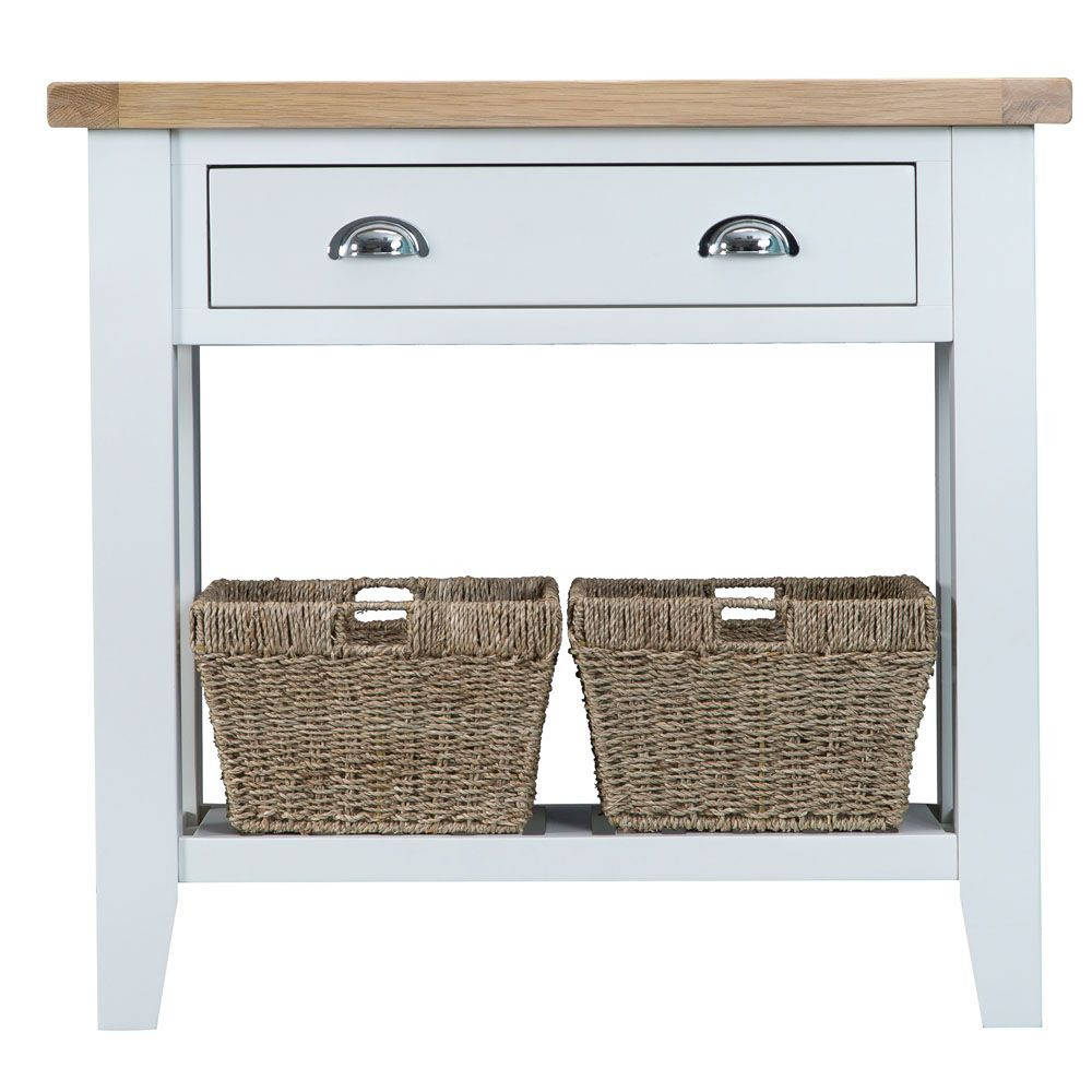 Henley White Console Table