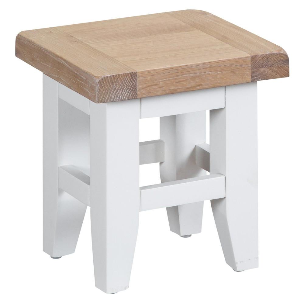 Henley White Nest of 3 Tables