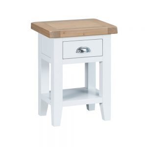 Henley White Side Table