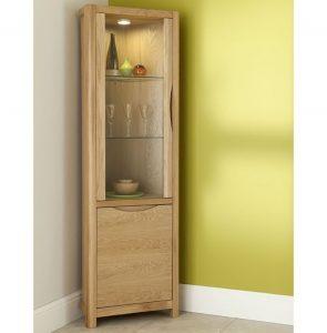 Malmo Corner Display Cabinet WN213