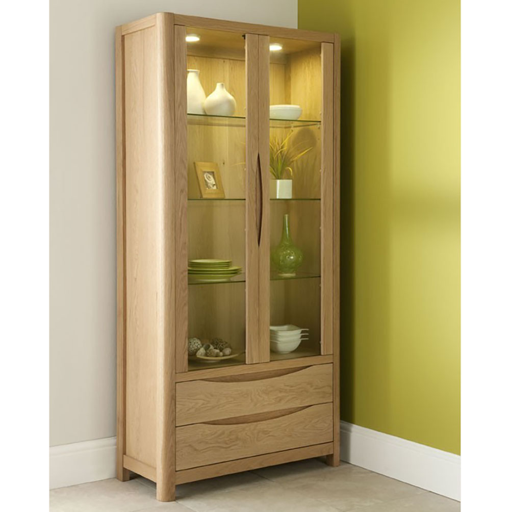 Malmo Tall Display Cabinet WN211