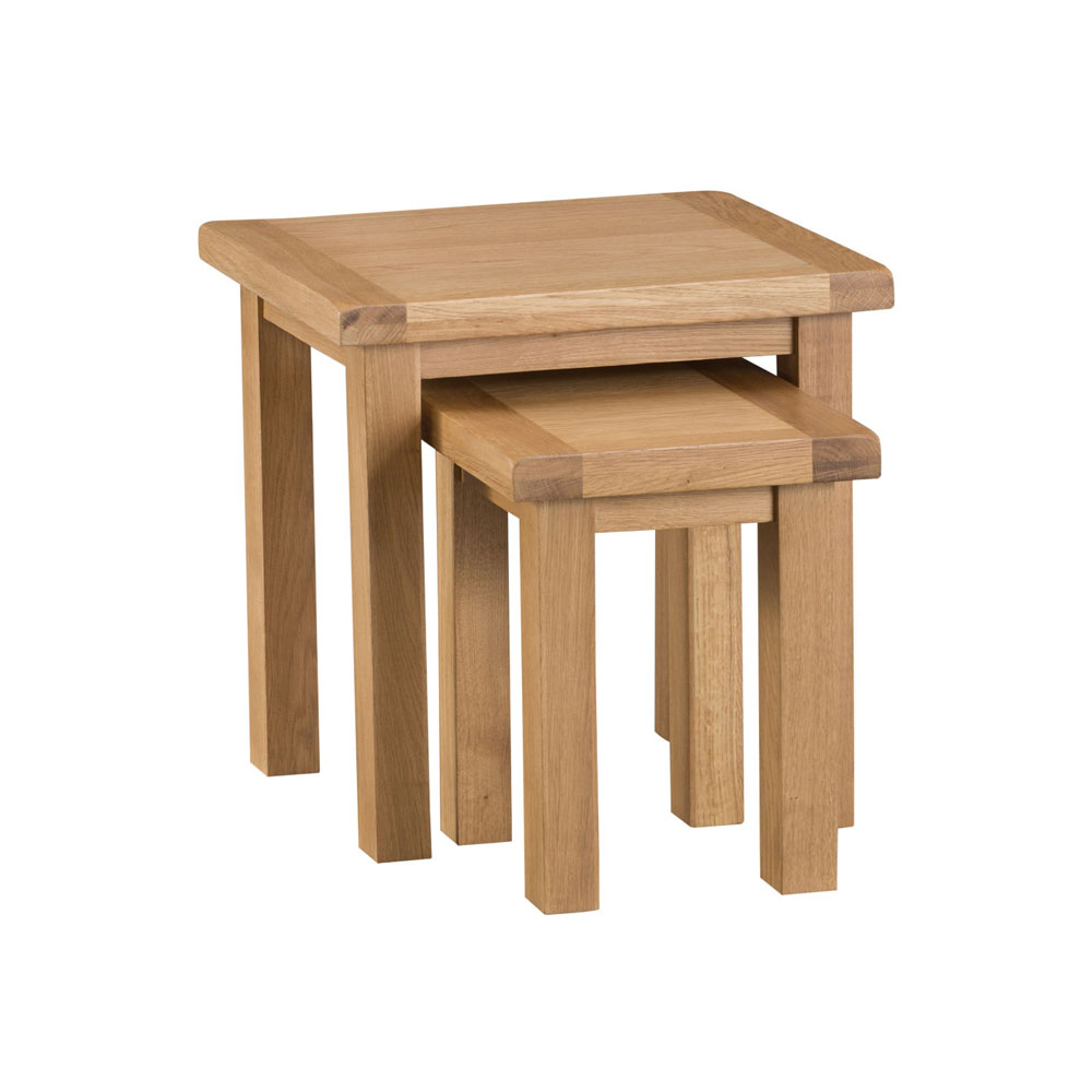Oakley Rustic Nest of 2 Tables