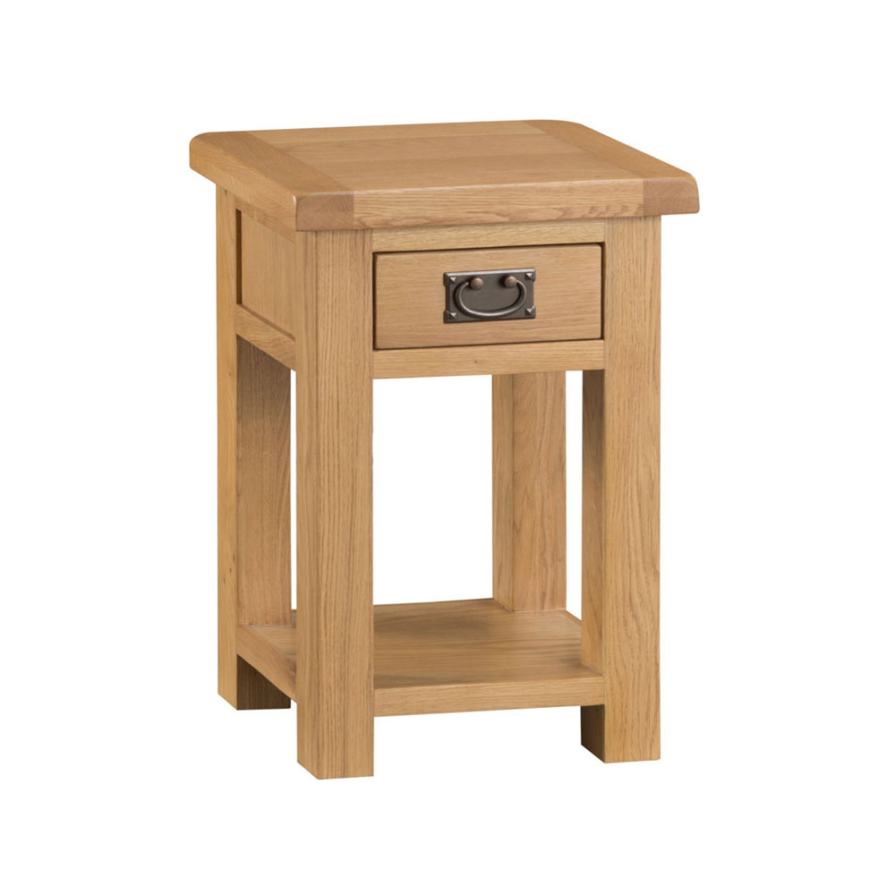 Oakley Rustic Side Table