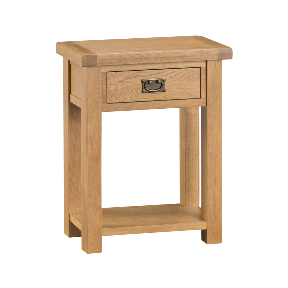 Oakley Rustic Telephone Table