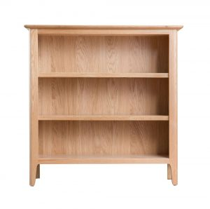 Woodley Small Wide Bookcase