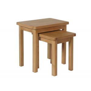Childon Oak Nest of 2 Tables