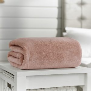 Deyongs Snuggle Touch Throw 140x180 Pink