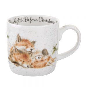 Wrendale The Night Before Christmas (Fox) Mug