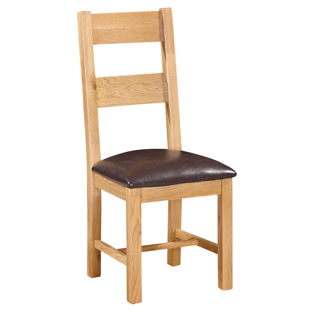 Maiden Oak Ladder Back Chair