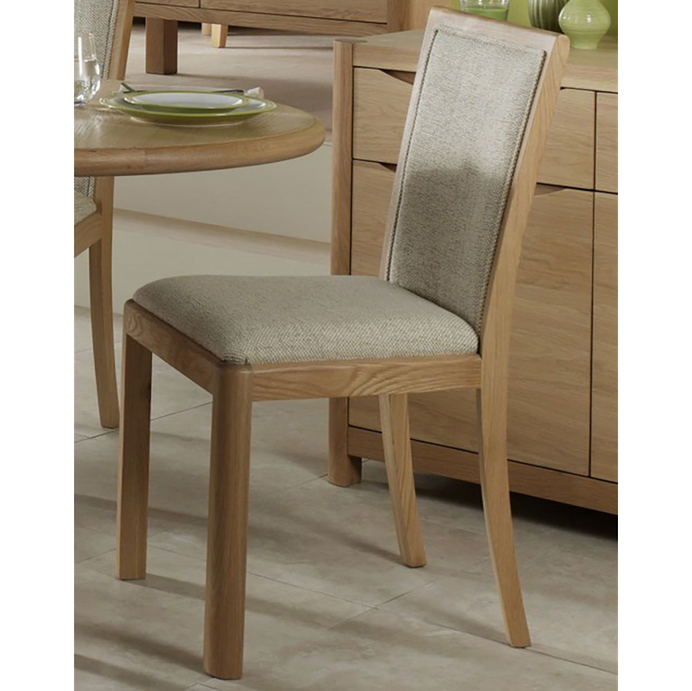 Malmo Upholstered Back Chair Fabric WN216F