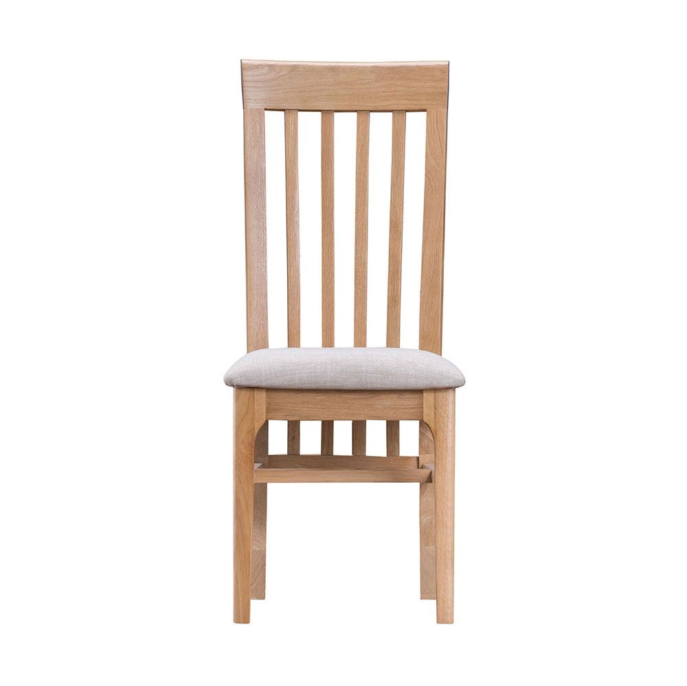 Woodley Slat Back Chair Fabric