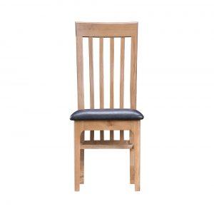 Woodley Slat Back Chair PU