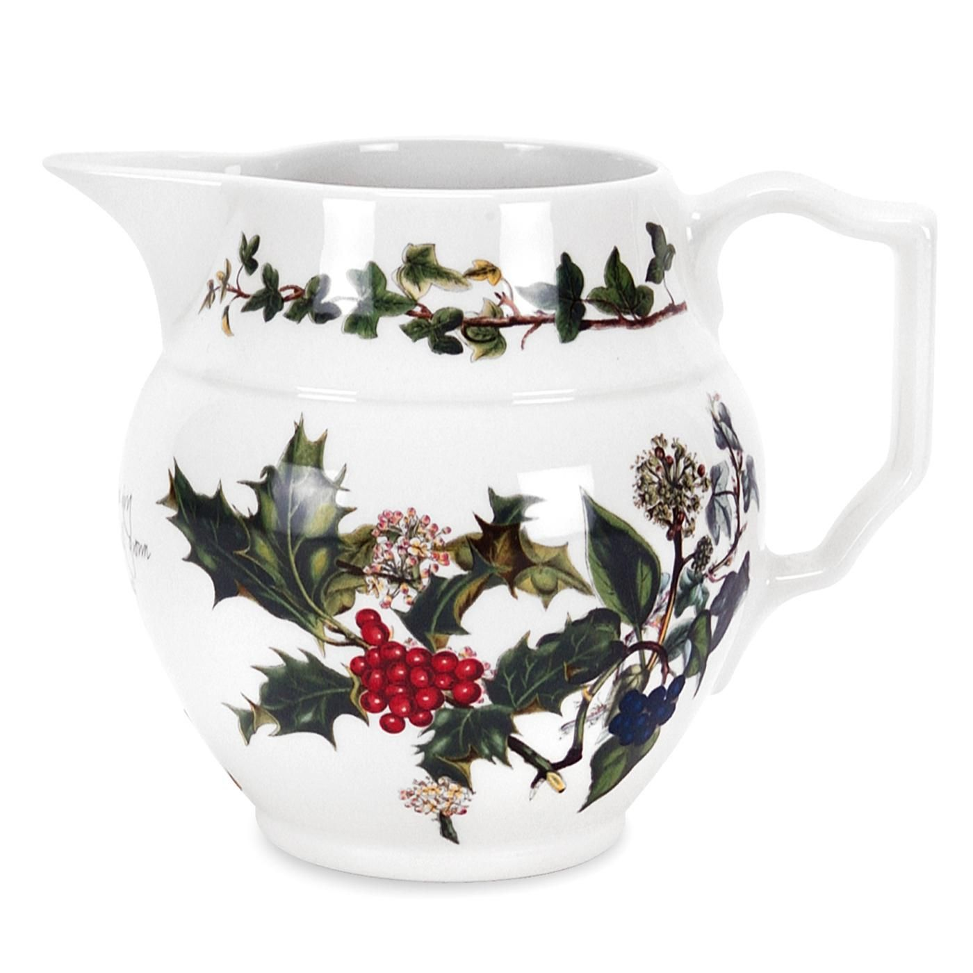 Portmeirion The Holly and the Ivy Staffordshire Jug 0.5pt