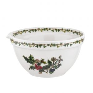 Portmeirion The Holly and The Ivy Mixing Bowl 8 Inch