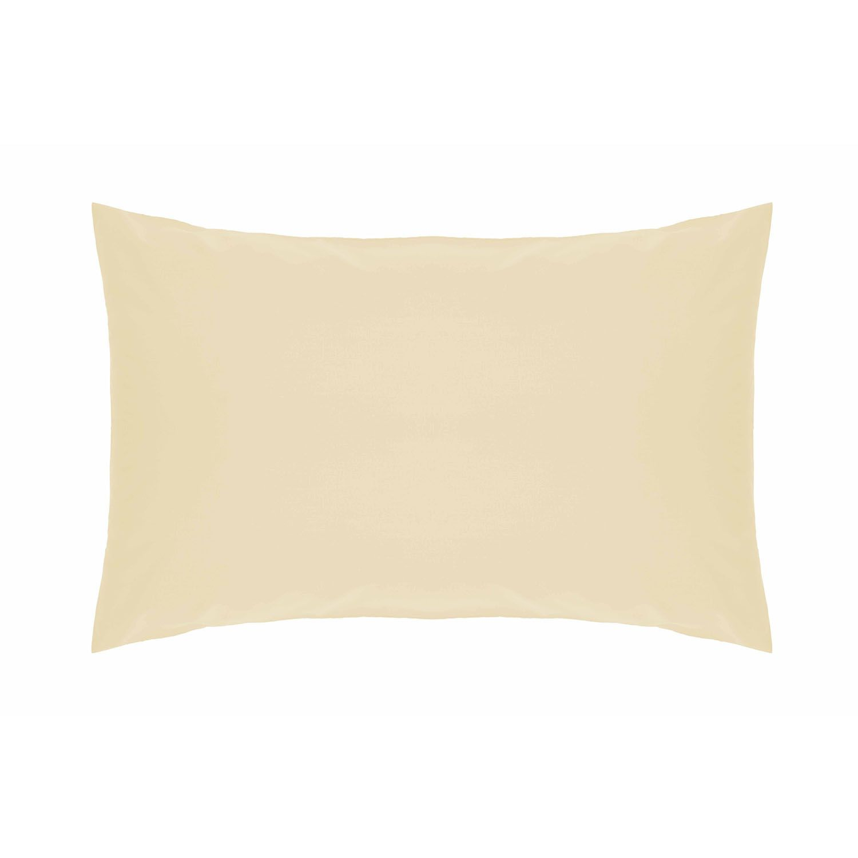 Belledorm 200 Thread Count Polycotton Pillowcase Cream