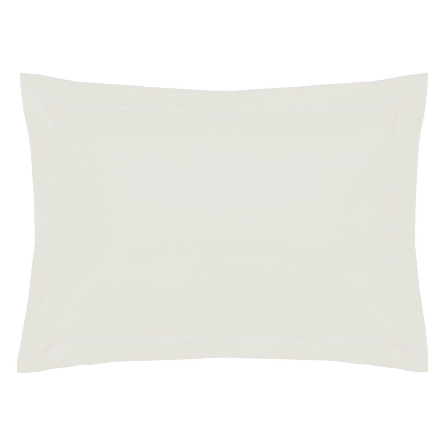 Belledorm 200 Thread Count Polycotton Oxford Pillowcase Ivory